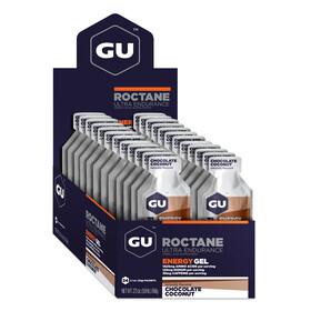GU Energy Roctane Sport Ernæring Chocolate Coconut 24x 32g brun/sølv